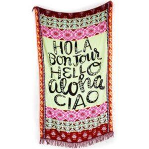 Summer Beach Tapestry/Sarong